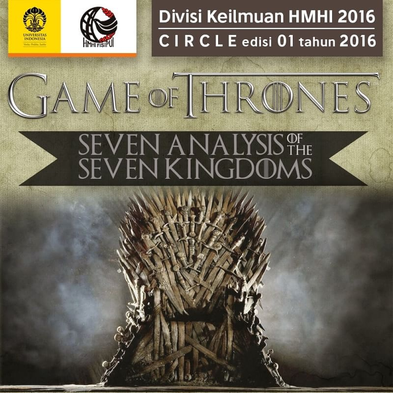 CIRCLE 1.0 – Game of Thrones: Seven Analysis of the Seven Kingdoms, Pt.1